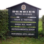 Denbies Wine Estate sign